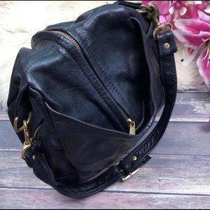 OOAK VTG Leather Shoulder bag